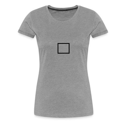 Carré parfait - T-shirt Premium Femme