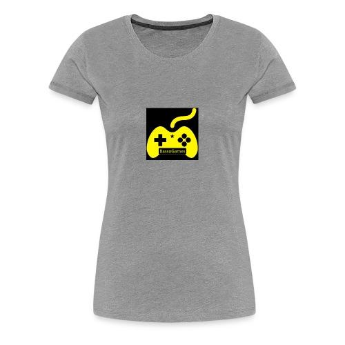 BassoGames Logi - Women's Premium T-Shirt