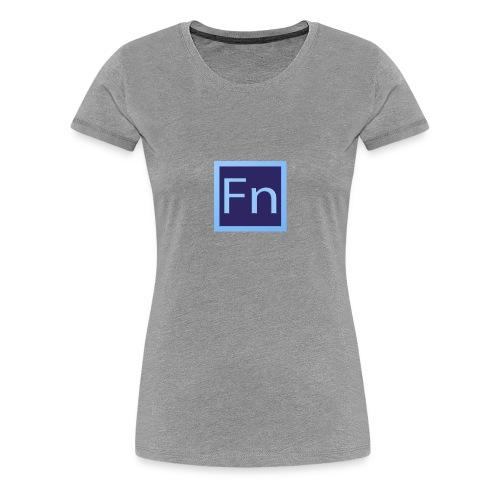 Borraccia falsonome FN - Maglietta Premium da donna