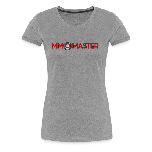 logo mmomaster - Frauen Premium T-Shirt
