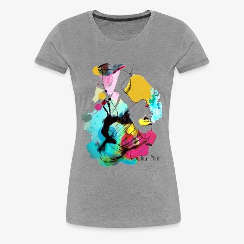 colour woman - Camiseta premium mujer