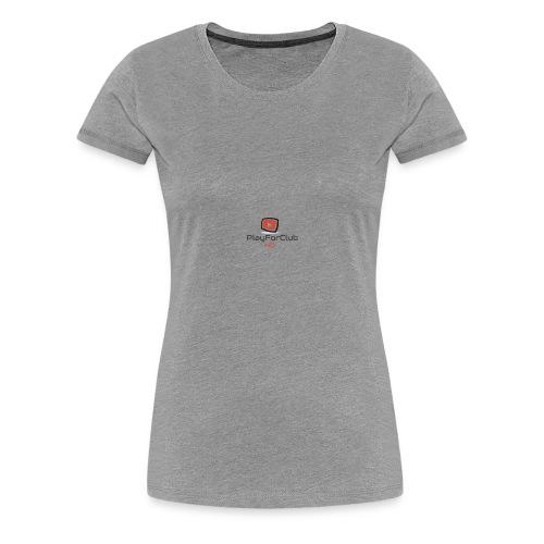 PlayForClub HD - T-shirt Premium Femme
