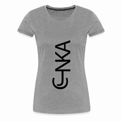 CJNKA V noir - T-shirt Premium Femme
