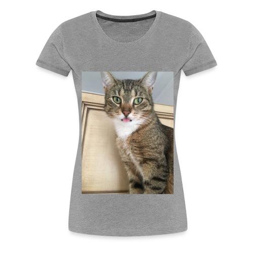Kotek - Koszulka damska Premium