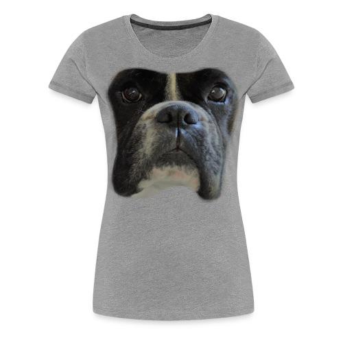 boxer big face - Women's Premium T-Shirt