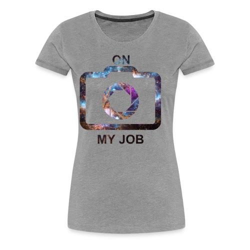 MINUN TYÖN (tilaa) - Naisten premium t-paita