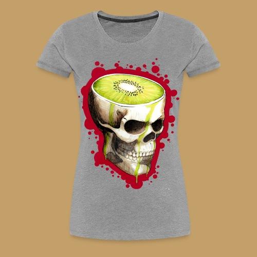 Czacha Kiwi - Koszulka damska Premium
