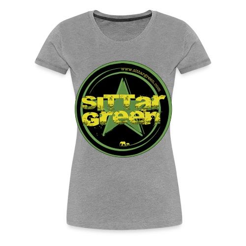 Sittar T-Shirt (Green cilcle) - Camiseta premium mujer