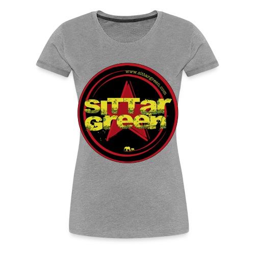Sittar T-Shirt (Red cilcle) - Camiseta premium mujer