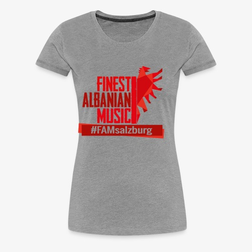 FAM salzburg - Frauen Premium T-Shirt