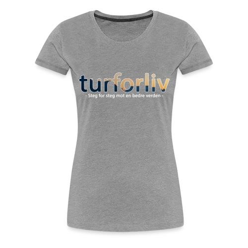 turforliv - Premium T-skjorte for kvinner