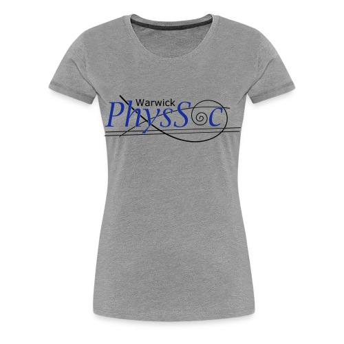 Official Warwick PhysSoc T Shirt - Women's Premium T-Shirt