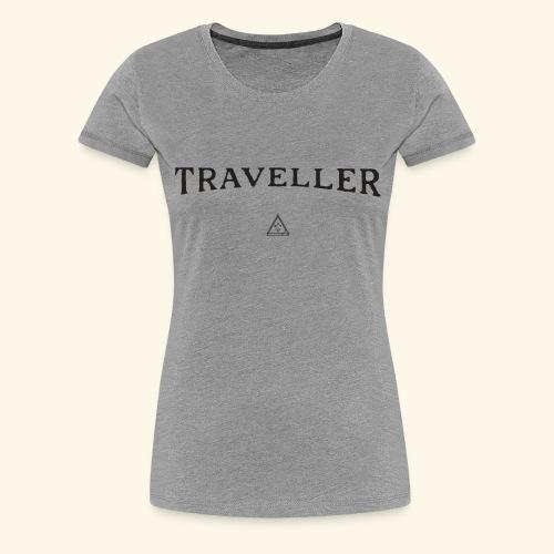 Shirt Reisenden - Frauen Premium T-Shirt
