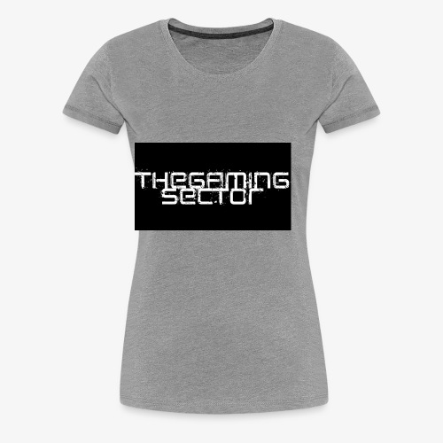 TheGamingSector Merchandise - Women's Premium T-Shirt