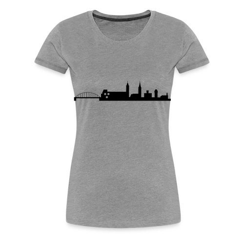 Skyline Moosburg 2 - Frauen Premium T-Shirt