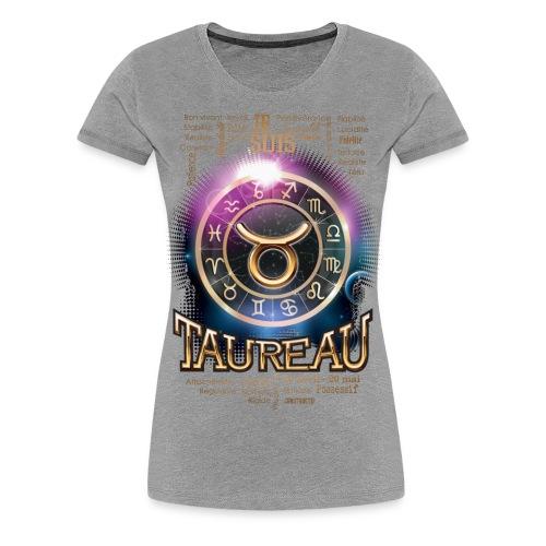 TAUREAU - T-shirt Premium Femme