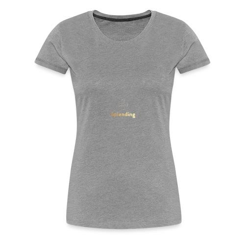 Splending Games | Official Logo - Women's Premium T-Shirt