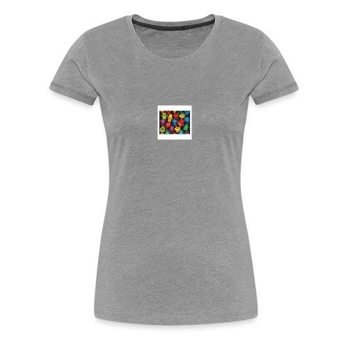 Créatures Folles Colorés - T-shirt Premium Femme