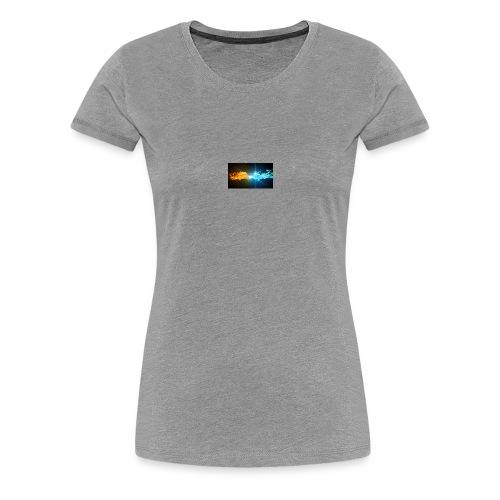 Water vs fire - Premium-T-shirt dam