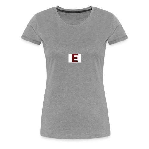 The E Merchandise - Women's Premium T-Shirt
