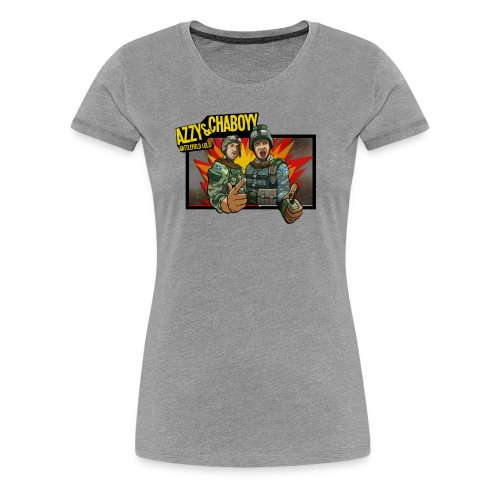 Chaaboy_final_box_done_flattened.png - Women's Premium T-Shirt