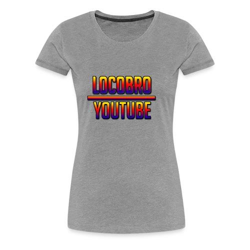 LoCoBrO youtube - Women's Premium T-Shirt