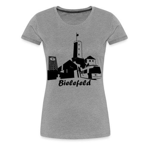Bielefeld Skyline - Frauen Premium T-Shirt