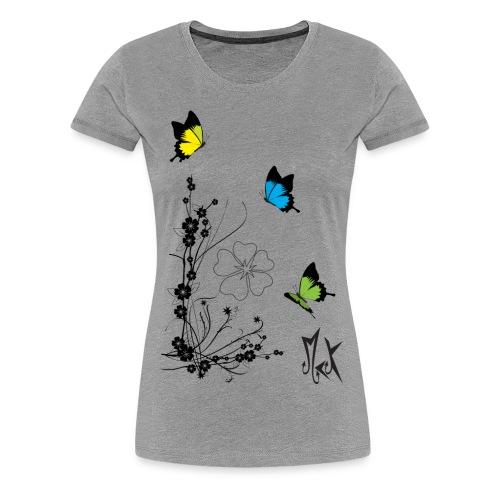 Butterflies McKoy - Camiseta premium mujer