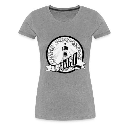 leuchtturm motiv fasr fertig png - Frauen Premium T-Shirt