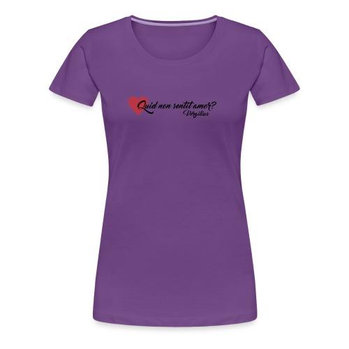 Virgilio - Maglietta Premium da donna