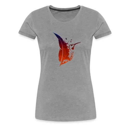 Colibri flamboyant - T-shirt Premium Femme