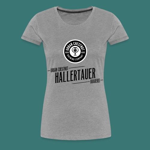 UCBC Hallertau mit Schriftzug - Frauen Premium T-Shirt