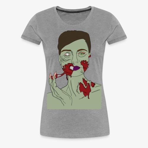 Zombie Girl - Women's Premium T-Shirt