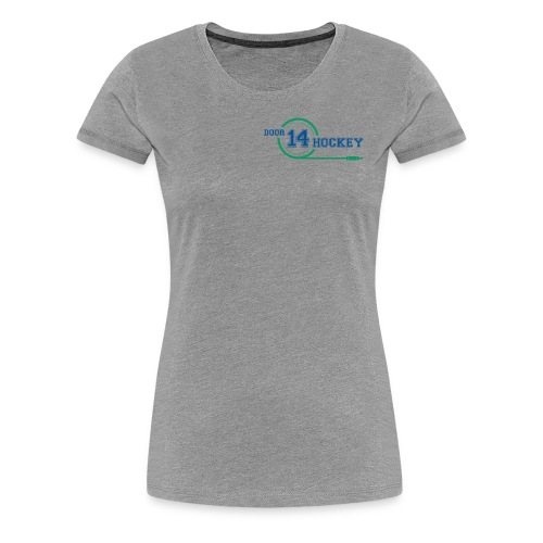 D14 HOCKEY LOGO - Women's Premium T-Shirt
