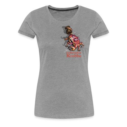 Zur torkelnden Krabbe - Frauen Premium T-Shirt