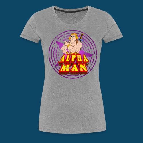 alphatshirt png - T-shirt Premium Femme