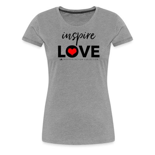 inspire love - Vrouwen Premium T-shirt