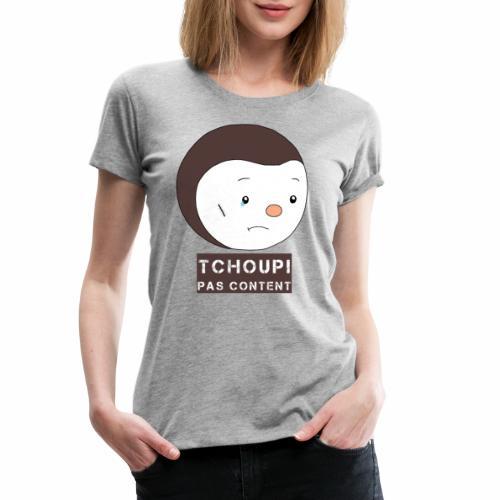 Tchoupi pas content ! - T-shirt Premium Femme