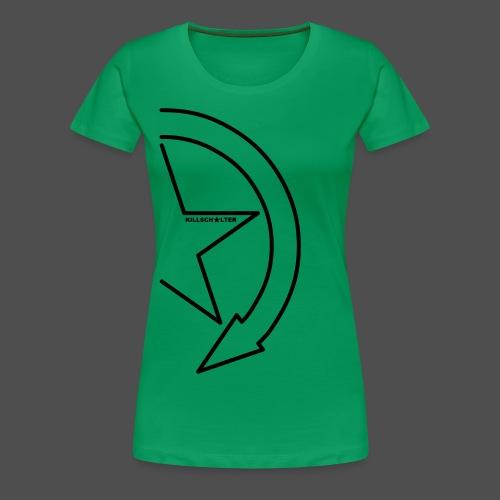 Logo marki 1/2 - Koszulka damska Premium