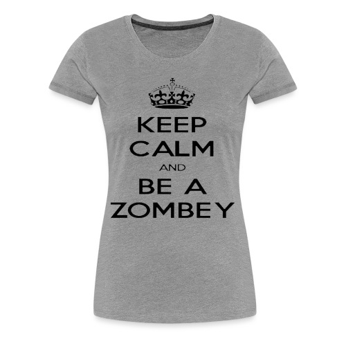 MiningZombey Merchstore logo v1 schwarz - Frauen Premium T-Shirt