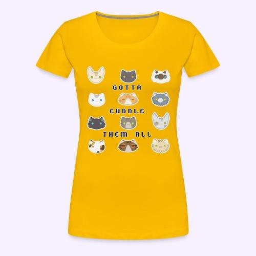 All the Cats - Maglietta Premium da donna