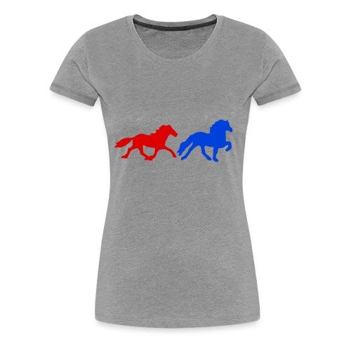 4 und 5-Gänger II - Frauen Premium T-Shirt