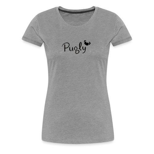 Pugly Logo - Premium-T-shirt dam