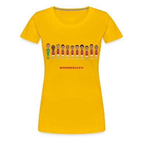 Gunners2013 - Women's Premium T-Shirt