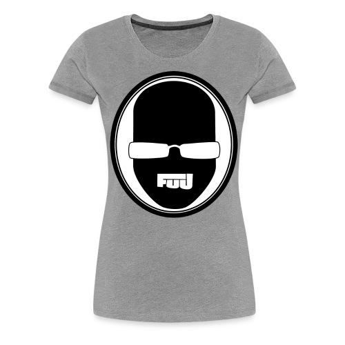 fuu kopflogo schwarz png - Frauen Premium T-Shirt