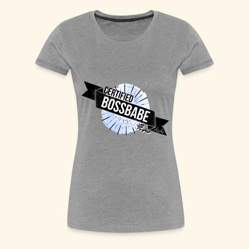 Certified Bossbabe - Frauen Premium T-Shirt