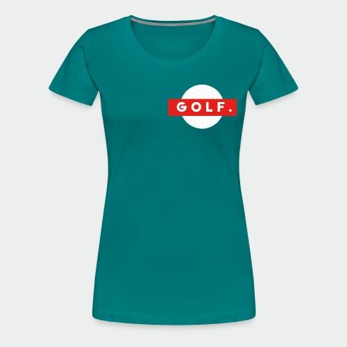 GOLF. - T-shirt Premium Femme