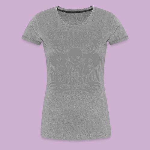 SKULL DESTINATION - Frauen Premium T-Shirt