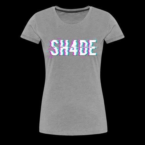 SH4DE. - Women's Premium T-Shirt