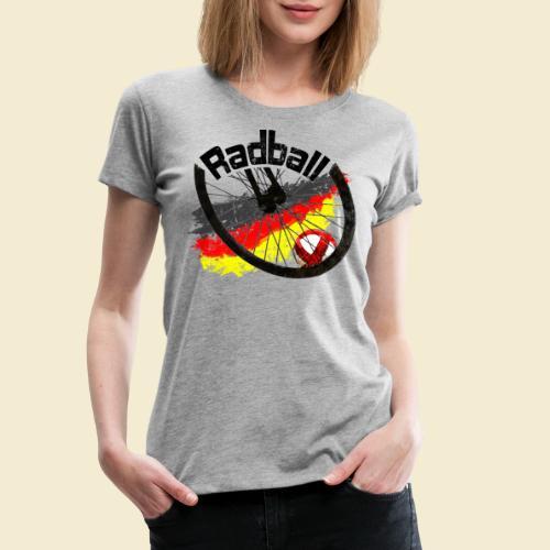 Radball | Deutschland - Frauen Premium T-Shirt